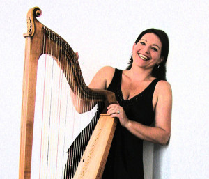 Maxine Eilander, Baroque Harp  (photo provided by WIMF)