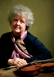 Monica Huggett, Violin (photo provided by WIMF)