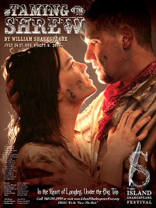 "Poster for ""Taming of the Shrew"""
