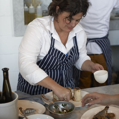 Renee Erickson, chef and owner of The Whale Wins (photo courtesy of Renee Erickson)