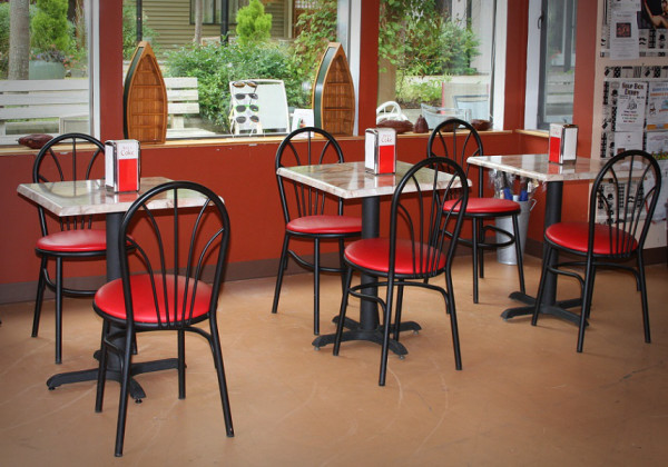 Sweet Mona's new space has plenty of room to sit and enjoy an ice cream soda, gelato or cappuccino.