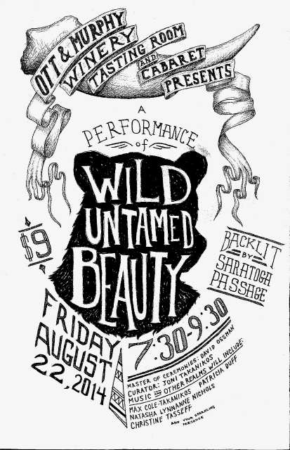 Wild Untamed Beauty poster (825x1280) (413x640)