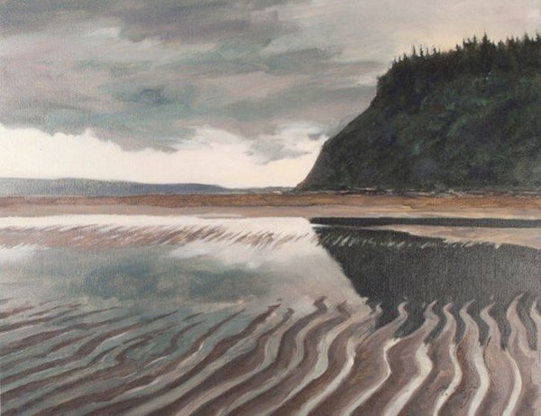 """Whidbey Island""  Painting by Matthew Statz  (image courtesy of the artist)"