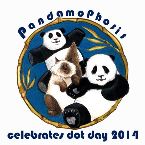 My contribution to the 2014 Dot Day Celebration//Anne Belov