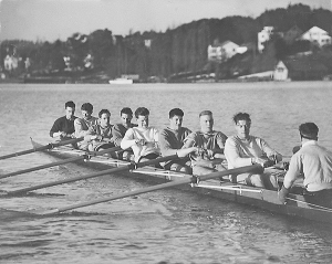 The Gold Medal-winning crew of University of Washington (photo courtesy of Jeff Day)
