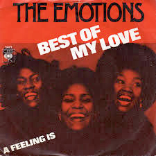 "Album Cover for The Emotions ""Best of My Love""  (image provided by the author)"