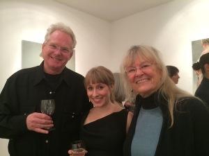 Aleah Chapin with Rick and Lynnaea