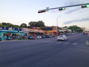 South Congress Street, Austin  (photo by Erik Christensen)