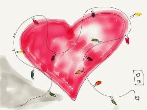 iPad heart