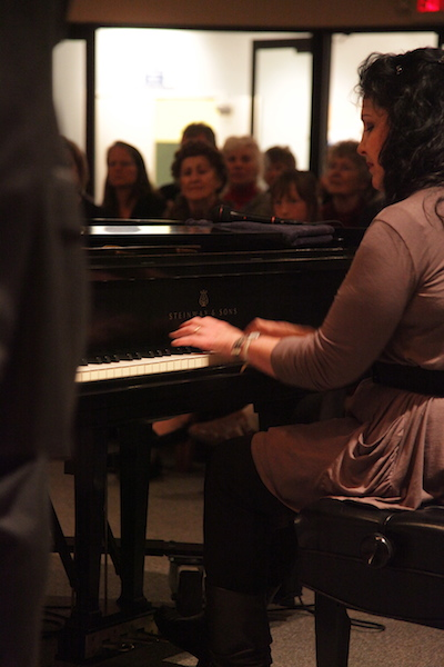 Maureen Girard will perfrom during the opening set on the show at Zech Hall on January 24 (photo courtesy of the artist)