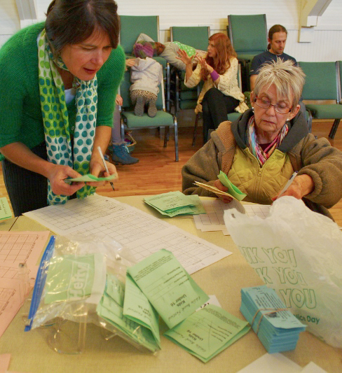 The serious business of counting ballots