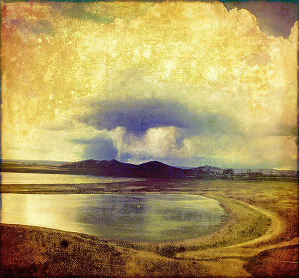 Cloudburst by Gina Williams, guest artist at Whidbey Art Gallery in Langley this month.  (photo provided by the artist)