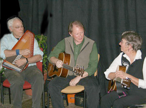 Richard, Marie and Geoff will perform at the Chicken Barn  (photo courtesy of the Chicken Barn)