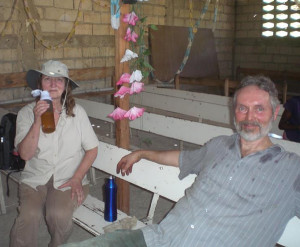 Deb Lund & Karl Olsen on a Haiti work break