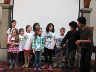 Plant for the Planet presenters