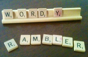 The Wordy Rambler  (photo by the author)