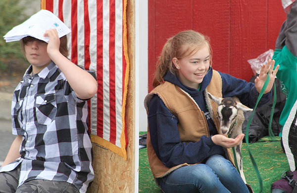 Whidbey Island Fair and 4-H Float with goat  (photo by Martha McCartney)