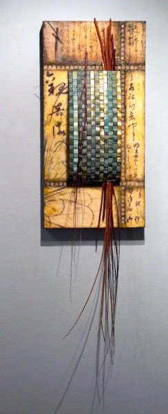 """Infinity,"" mixed-media encaustic by Kathleen Otley. / Photo courtesy of the artist."