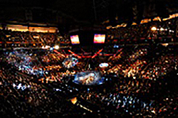 "If you like people, Key Arena, with a ""full house,"" is the place to be!"