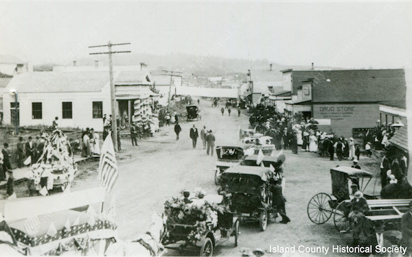 The Fourth of July in Oak Harbor 1915-1918