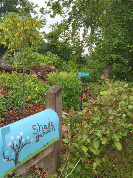 The Greenbank Farms' demonstration garden has also received WIGT proceeds.  (photo by CJ Baker)
