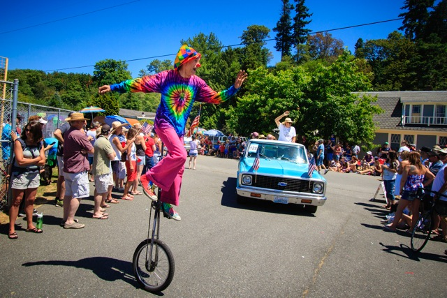 Ride your unicycle, bicycle or bring your classic car