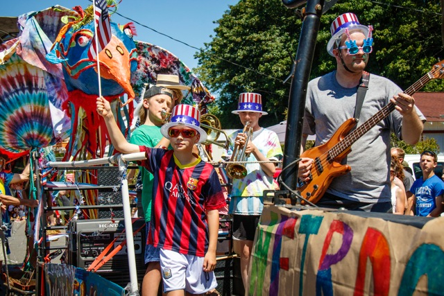 Why not create your own band, like these enterprising folks?