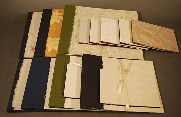A selection of papers created by Mary Ashton (photo by Mary Ashton)