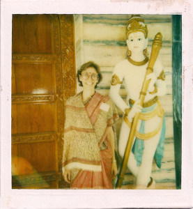 Bendet in India, 1988 (photo courtesy of the author)