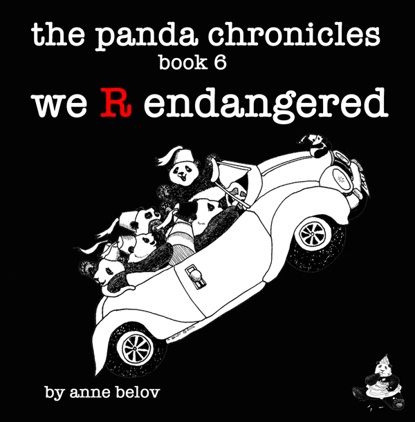 We are endangered! Cover illustration by Anne Belov