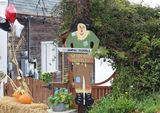 street scarecrow