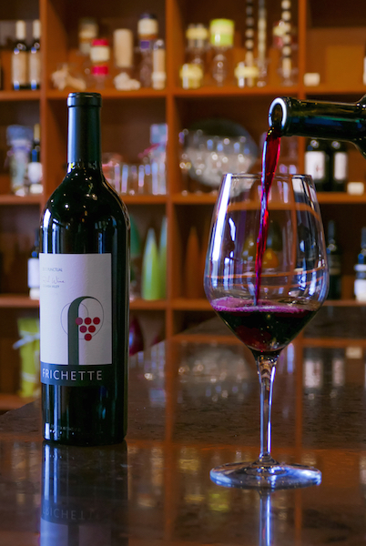 A new wine from the Red Mountain AVA recently added to the wine's array of choices. (photo by Chris Korrow)