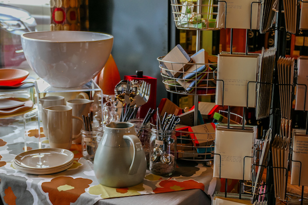 Quality kitchenware, candles, and greeting cards round out the offerings at 2nd Street Wine Shop. (photo by Chris Korrow)