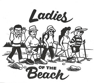 Ladies of the Beach logo, designed by Barbara Lindahl (Courtesy of Barbara Lindahl.)