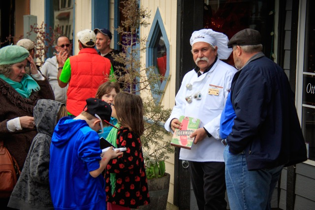 Chef Bruno Wilhelm shares his exclusive Hasenpfeffer recipe with admirers.