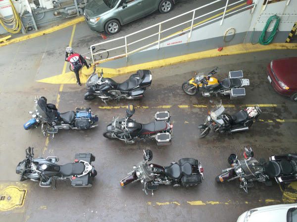 Photo 3 - Tulip Ride motorcycles on ferry