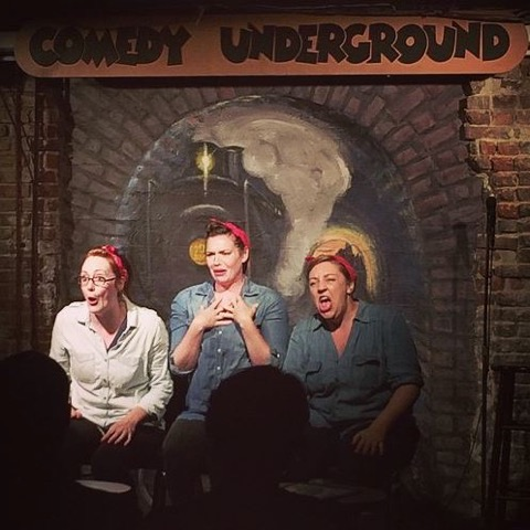 Day Job performs at Seattle's Comedy Underground.