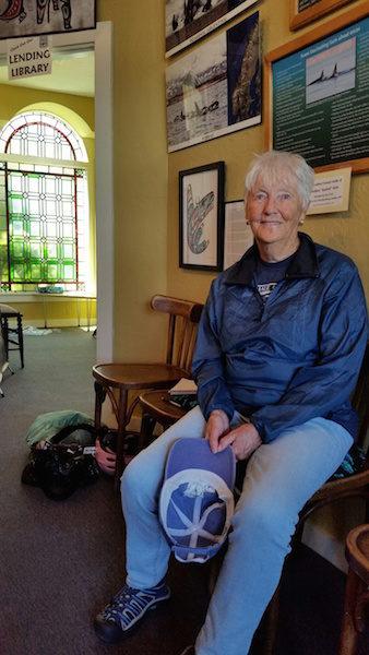 Jill Hein, the naturalist-photographer (photo by Kate Poss)