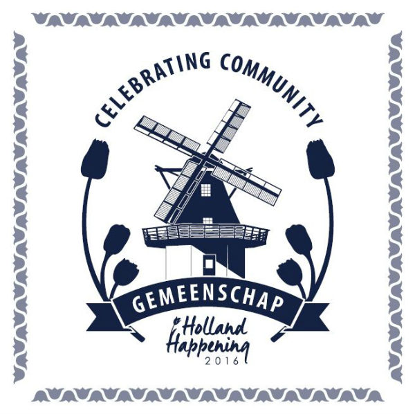 """The theme of this year's Holland Happening is Gemeenschap, the Dutch word for """"community."""" (graphic provided by The Oak Harbor Chamber of Commerce)"""