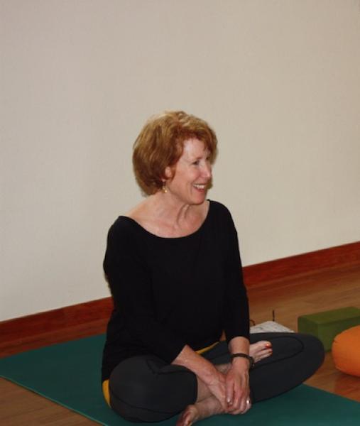 Easton, Yoga Teacher and Owner of Half-Moon Yoga, Langley (photo by Susan Scott)