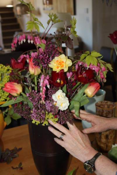 Floral Bouquet for Museo Gallery (photo by Susan Scott)