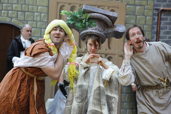 Actors from previous plays with the Island Shakespeare Festival (photo courtesy of Island Shakespeare Festival website)