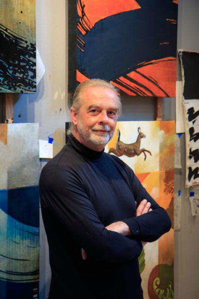 Whidbey Painter Craig Kosak (photo by David Welton)