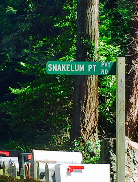 Snakelum Point in Coupeville (photo by the author)
