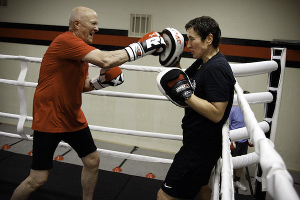 Non-contact sparring sessions in the regulation boxing ring tax a boxer's balance, focus, agility, hand-eye coordination, speed, endurance and strength.
