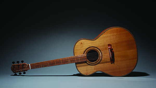 Janet Lewis enjoys woodworking and creating beautiful instruments. (photo courtesy of Janet Lewis)