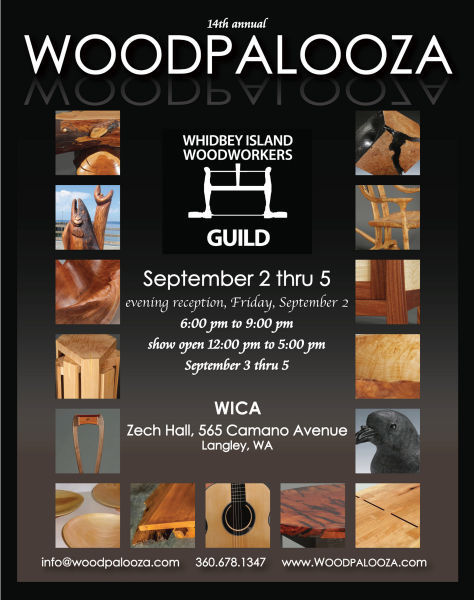 Woodpalooza Poster (image courtesy of the Whidbey Island Woodworkers Guild)