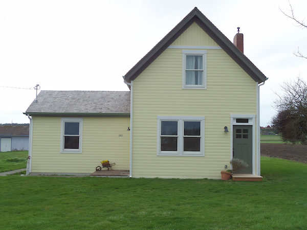 Baxter's house after restoration. (photo courtesy of Friends of Ebey's)