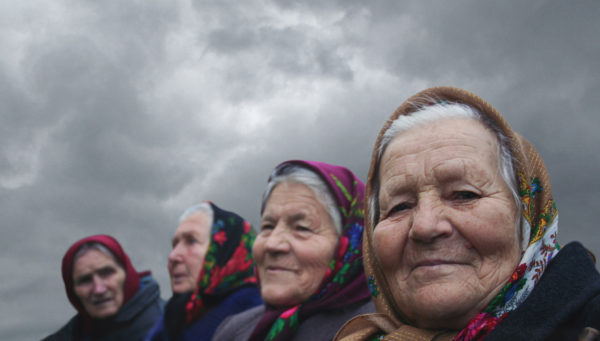 """The Babushkas of Chernobyl"" (photo courtesy of Holly Morris)"