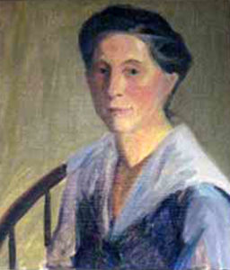 Portrait of Helen Coe by Margaret Camfferman (Photo courtesy of Langley library)